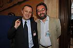 ANTONELLO PIROSO CON MARCO DAMILANO<br /> PREMIO GUIDO CARLI - SECONDA EDIZIONE<br /> PALAZZO DI MONTECITORIO - SALA DELLA REGINA ROMA 2011