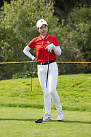 STANFORD, CA - APRIL 24: Vivian Hou at Stanford Golf Course on April 24, 2021 in Stanford, California.