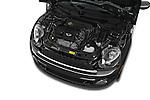 Car Stock 2015 MINI Mini Cooper S 2 Door Convertible Engine high angle detail view