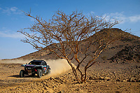 31st December 2020, Jeddah, Saudi Arabian. The vehicle and river shakedown for the 2021 Dakar Rally in Jeddah;   393 Baud Lionel fra, Minaudier Loic fra, , PH Light Weight Vehicles Protoype - T3, action during the shakedown of the Dakar 2021 in Jeddah