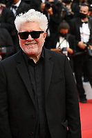 """CANNES, FRANCE. July 6, 2021: Pedro Almodovar at the premiere of """"Annette"""" at the gala opening of the 74th Festival de Cannes.<br /> Picture: Paul Smith / Featureflash"""