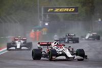 18th April 2021; Autodromo Enzo and Dino Ferrari, Imola, Italy; F1 Grand Prix of Emilia Romagna, Race Day;   07 RAIKKONEN Kimi fin, Alfa Romeo Racing ORLEN C41
