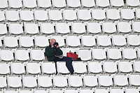A spectator looks on during Hampshire CCC vs Essex CCC, Specsavers County Championship Division 1 Cricket at the Ageas Bowl on 7th April 2019