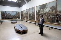L'interno delle Gallerie dell'Accademia a Venezia.<br /> Interior of Accademia gallery in Venice.<br /> UPDATE IMAGES PRESS/Riccardo De Luca