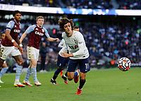 3rd October 2021; Tottenham Hotspur Stadium. Tottenham, London, England; Premier League football, Tottenham versus Aston Villa: Bryan Gil of Tottenham Hotspur