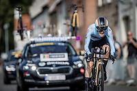 Julie Van de Velde (BEL/Jumbo-Visma)<br /> <br /> 88th UCI Road World Championships 2021 – ITT (WC)<br /> Women Elite Time trial from Knokke-Heist to Brugge (30.3km)<br /> <br /> ©Kramon