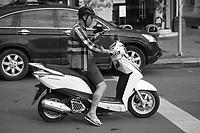 motorbikes, Ho Chi Minh City, 2019