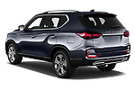 Car pictures of rear three quarter view of 2021 Ssangyong Rexton Sapphire 5 Door SUV Angular Rear