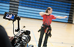 Karen Van Nest, Toronto 2015.<br /> Parapan Am hopefuls meet with the media in preparation for 2015 Parapan Am game at the Toronto Pan Am Sports Centre // Les espoirs parapanaméricains rencontrent les médias en vue du match parapanaméricain 2015 au Centre sportif panaméricain de Toronto. 24/03/2015.