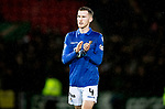 St Johnstone v Celtic…..29.01.20   McDiarmid Park   SPFL<br />New saints signing Jamie McCart applauds the fans at full time<br />Picture by Graeme Hart.<br />Copyright Perthshire Picture Agency<br />Tel: 01738 623350  Mobile: 07990 594431