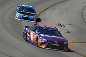 Monster Energy NASCAR Cup Series<br /> Toyota Owners 400<br /> Richmond International Raceway, Richmond, VA USA<br /> Sunday 30 April 2017<br /> Denny Hamlin, Joe Gibbs Racing, FedEx Ground Toyota Camry and Ryan Newman, Richard Childress Racing, Okuma Chevrolet SS<br /> World Copyright: Russell LaBounty<br /> LAT Images<br /> ref: Digital Image 17RIC1Jrl_6148