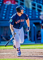 1 March 2017: Houston Astros first baseman A.J. Reed in Spring Training action against the Miami Marlins at the Ballpark of the Palm Beaches in West Palm Beach, Florida. The Marlins defeated the Astros 9-5 in Grapefruit League play. Mandatory Credit: Ed Wolfstein Photo *** RAW (NEF) Image File Available ***