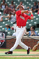 First baseman Jacob Anderson (21) during the 2010 Under Armour All-American Game powered by Baseball Factory at Wrigley Field in Chicago, New York;  August 14, 2010.  Photo By Mike Janes/Four Seam Images