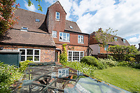 BNPS.co.uk (01202) 558833.<br /> Pic: CarterJonas/BNPS<br /> <br /> Pictured: Rear of the property. <br /> <br /> The former family home of Lord of the Flies author William Golding has gone on sale for £1m.<br /> <br /> The Grade II Listed cottage on a green in Marlborough is said to have inspired some of the Nobel Prize winning writer's work.<br /> <br /> His parents Alec, a teacher, and Mildred, a suffragette, bought the house and moved there in 1905, when Mr Golding obtained a job at the town's grammar school.<br /> <br /> Sir William was born in 1911 and he and his brother lived in the property and its location influenced his writing. He wrote of the property: 'Our house was on the green, that close like square, tilted south'.