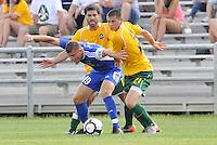 Simone Bracalello (#19 minn) Brad Stisser, Mark Bloom...AC St Louis and NSC Minnesota Stars played to a 2-2 tie at Anheuser-Busch Soccer Park, Fenton, Missouri.