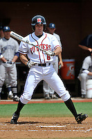 Rutgers Scarlet Knights outfielder Michael Lang (6) during game against Connecticut Huskies at Bainton Field in Piscataway, New Jersey;  May 01, 2011.  Connecticut defeated Rutgers 6-2.  Photo By Tomasso DeRosa/Four Seam Images