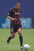 Ricardo Clark of the MetroStars. The Chicago Fire defeated the NY/NJ MetroStars 3-2 on 6/14/03 at Giant's Stadium, NJ..