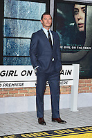 "Luke Evans<br /> at the premiere of ""The Girl on the Train"", Odeon Leicester Square, London.<br /> <br /> <br /> ©Ash Knotek  D3156  20/09/2016"