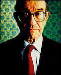 Alan Greenspan photographed by Brian Smith