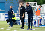 Queen of the South v St Johnstone…18.08.18…  Palmerston    BetFred Cup<br />Tommy Wright shouts instructions<br />Picture by Graeme Hart. <br />Copyright Perthshire Picture Agency<br />Tel: 01738 623350  Mobile: 07990 594431