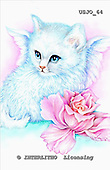 Marie, REALISTIC ANIMALS, REALISTISCHE TIERE, ANIMALES REALISTICOS, paintings+++++PreciousAngelKitty,USJO64,#A# ,Joan Marie cat angel