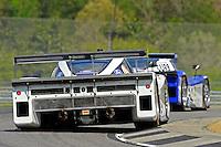 #8 Starworks Motorsports Ford/Riley of Ryan Dalziel & Enzo Potolicchio and the #60 Michael Shank Racing Ford/Riley of Ozz Negri & John Pew, class: Daytona Prototype (DP)