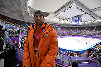 OLYMPIC GAMES: PYEONGCHANG: 10-02-2018, Gangneung Ice Arena, Short Track, Daan Breeuwsma (NED), ©photo Martin de Jong
