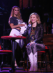 """Katie Webber and Kristen Scott during the tech rehearsal for """"Rock of Ages"""" 10th Anniversary Production on June 13, 2019 at the New World Stages in New York City."""