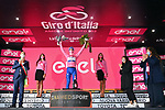 Race leader Joao Almeida (POR) Deceuninck-Quick Step retains the Maglia Rosa at the end of Stage 5 of the 103rd edition of the Giro d'Italia 2020 running 225km from Mileto to Camigliatello Silano, Sicily, Italy. 7th October 2020.  <br /> Picture: LaPresse/Gian Mattia D'Alberto | Cyclefile<br /> <br /> All photos usage must carry mandatory copyright credit (© Cyclefile | LaPresse/Gian Mattia D'Alberto)