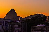 RJ. Rio de Janeiro. 05/05/2020 CLIMA TEMPO O sol aparece na cidade do Rio de Janeiro nesta terça-feira, (05), vista da cidade do bairro das Laranjeiras, zona sul, voltado para o ponto turistico do pão de açúcar, zona sul.