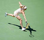 March 28 2018: Elina Svitolina (UKR) loses to Jelena Ostapenko (LAT) 6-7 (3), 6-7 (5), at the Miami Open being played at Crandon Park Tennis Center in Miami, Key Biscayne, Florida. ©Karla Kinne/Tennisclix/CSM