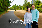 Lucy Burke and Sean Callaghan enjoying a walk on the new cycle in Killarney on Tuesday