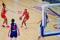 Alahna Smith (2) of Puerto Rico pictured during a basketball game between the national teams of Puerto Rico and Serbia on Sunday 30 th of May 2021 in Kortrijk , Belgium . PHOTO SPORTPIX.BE   SPP   STIJN AUDOOREN