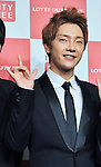 Yoonhak(Choshinsung, Supernova), Aug 30, 2013 : Tokyo, Japan : Yunhak of Korean boy band Supernova attends a press conference for new promotion video of Lotte Duty Free shop in Tokyo, Japan, on August 30, 2013.