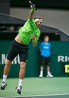 11-02-14, Netherlands,Rotterdam,Ahoy, ABNAMROWTT,Denis Istomin(OEZ) <br /> Photo:Tennisimages/Henk Koster