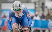 Veljko Stojnic (SRB)<br /> <br /> Men Junior Individual Time Trial<br /> <br /> UCI 2017 Road World Championships - Bergen/Norway