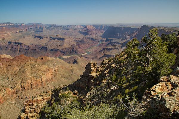 Desert View along the South Rim of Grand Canyon National Park, Arizona .  John offers private photo tours in Grand Canyon National Park and throughout Arizona, Utah and Colorado. Year-round.