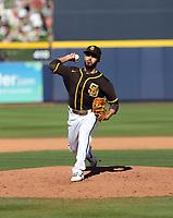 Javy Guerra - San Diego Padres 2020 spring training (Bill Mitchell)