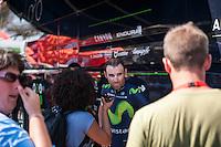 Castellon, SPAIN - SEPTEMBER 7: Alejandro Valverde during LA Vuelta 2016 on September 7, 2016 in Castellon, Spain