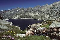 Europe/France/Aquitaine/64/Pyrénées-Atlantiques/Parc National des Pyrénées: Le lac d'Artouste