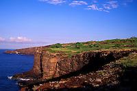 The cliffs of Manele hole number 12 designed by Jack Nicklaus
