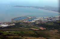 Aerial view of Swansea Bay