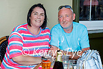 Enjoying the evening in the Grand Hotel on Saturday, l to r: Joanne Wheeler and Peter Kelly.