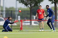 FRISCO, TX - JULY 20: Matt Turner of the United States during a training session at Toyota Soccer Center FC Dallas on July 20, 2021 in Frisco, Texas.