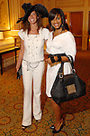 Lisa Holthouse and Yendi Thompson at the Houston Chronicle Best Dressed luncheon at the Westin Galleria Hotel  Monday March 10,2008.(Dave Rossman/For the Chronicle)