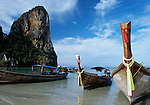 Thailand, Krabi, Ao Rai Lay (West) Beach - accessible only by boat