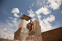 Tower guard. Maximum security prison Manhera, Somaliland.