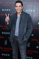 WEST HOLLYWOOD, CA, USA - SEPTEMBER 21: Gabriel Luna arrives at the John Varvatos #PeaceRocks Ringo Starr Private Concert held at the John Varvatos Boutique on September 21, 2014 in West Hollywood, California, United States. (Photo by Xavier Collin/Celebrity Monitor)
