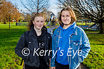 Enjoying a stroll in the Tralee Town Park on Sunday, l to r: Amanda Diggin and Ireda Mateviciute.