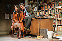 """London, UK. 03/06/2011.  """"Butley"""" by Simon Gray opens at the Duchess Theatre, London. Dominic West (The Wire) stars as the eponymous Butley. Amanda Drew as Anne Butley and Dominic West as Butley. Photo credit should read Jane Hobson"""